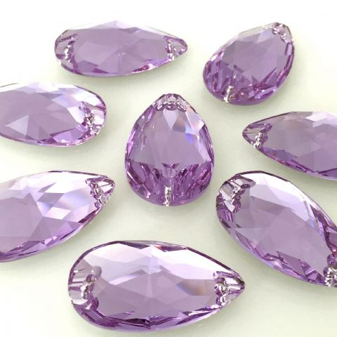 3230 Drop Sew On Crystals, Violet